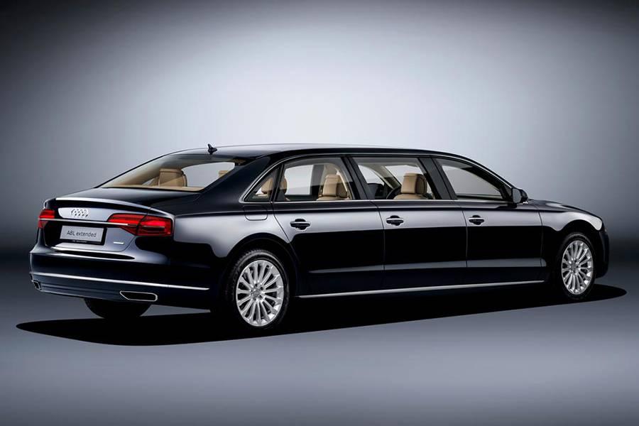 Фото лимузина Audi A8
