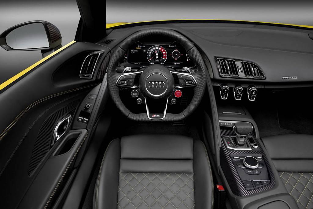 Фото салона Audi R8 Spyder V10 2-го поколения (2016-2017)