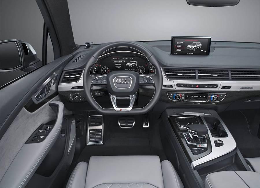 Фото салона Audi SQ7 TDI 2016-2017