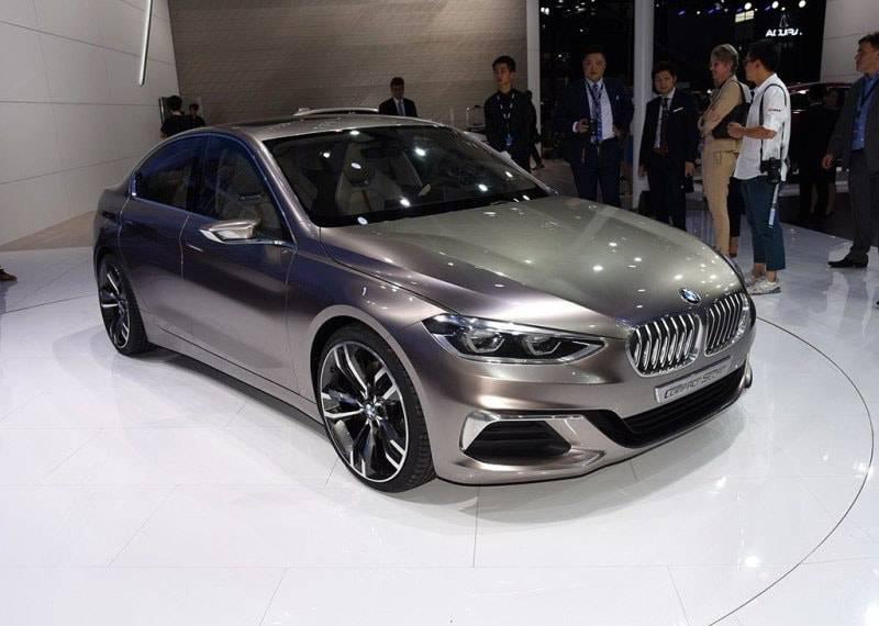 Фото BMW Compact Sedan Concept (вид спереди)