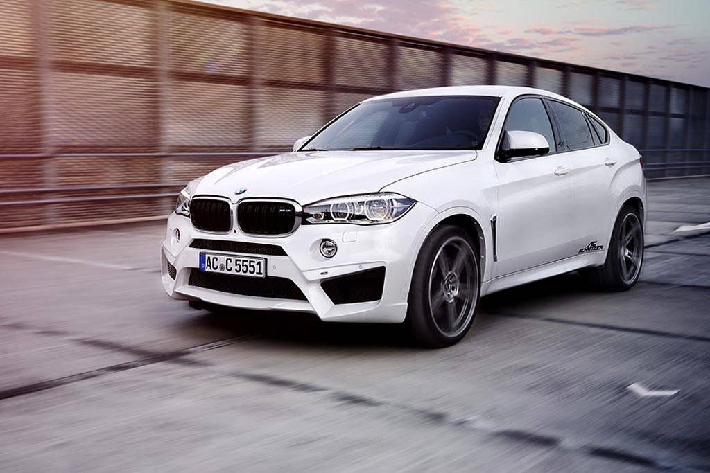 Фото доработанного BMW X6 M (F86) от тюнинговой компании AC Schnitzer