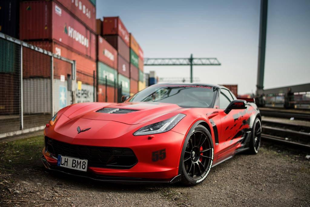 Фото Corvette Z06 от ателье BBM Motorsport