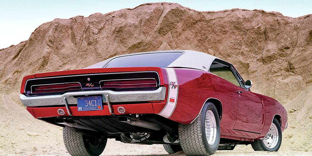 Фото Dodge Charger 1969 года