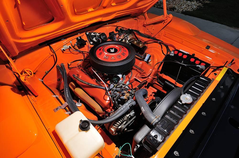 Фото двигателя Dodge Charger 1969 года