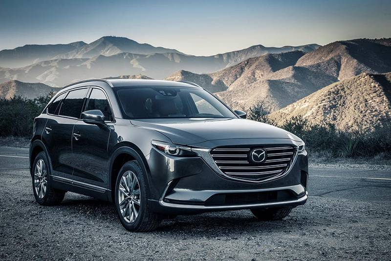Фото Mazda CX-9 2016-2017 модельный год (вид спереди)