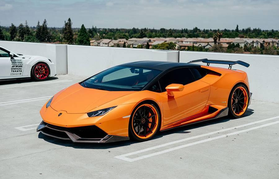 Фото Lamborghini Huracan Renato от ателье 1016 industries