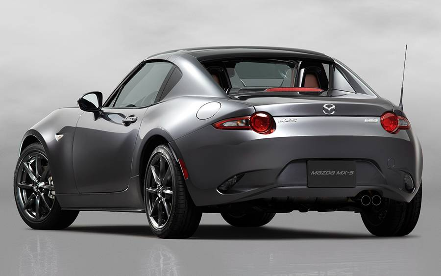 Фото Mazda MX-5 Retractable Fastback 2016-2017
