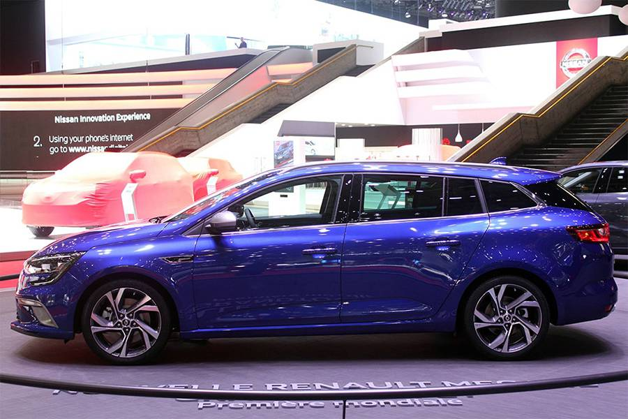 Фото универсала Renault Megane Estate 2016-2017 года
