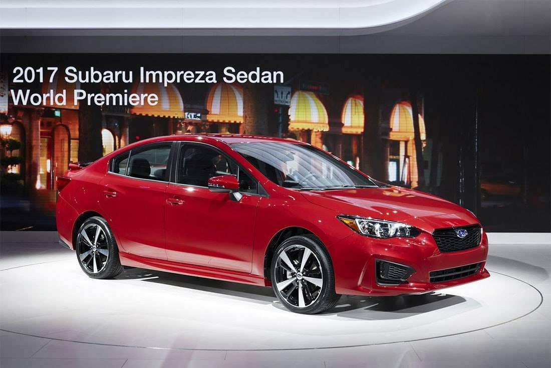 Новый Subaru Impreza 2014 года