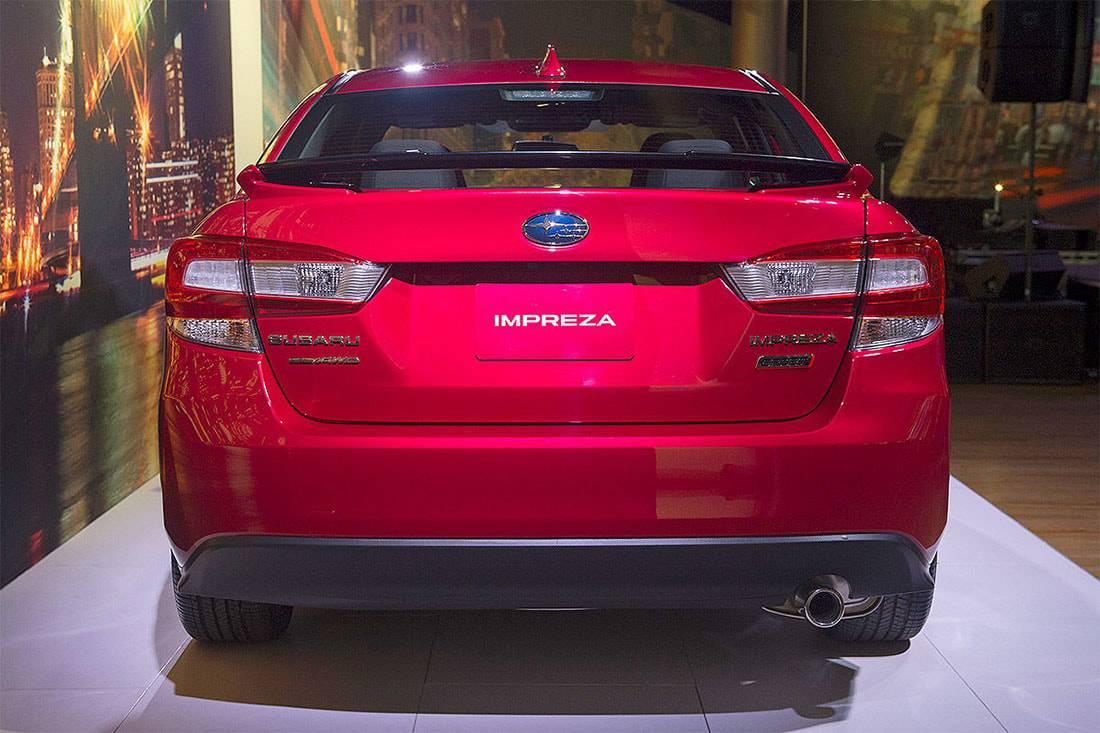 Фото Subaru Impreza седан 2017-2018 год