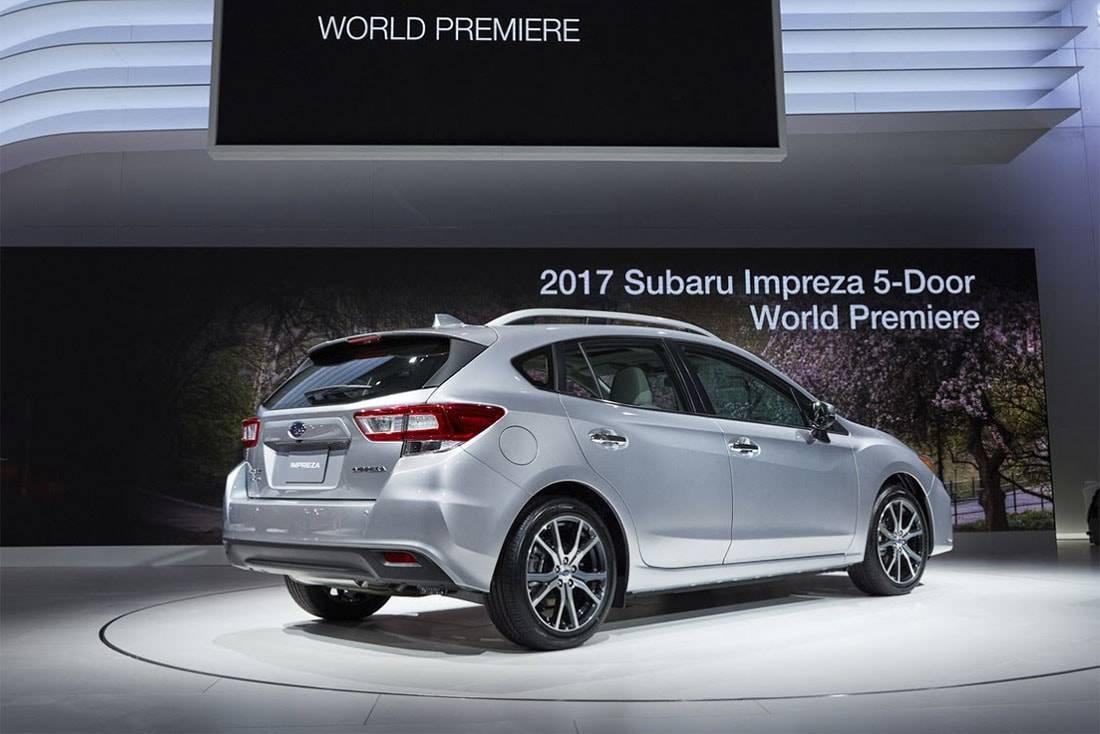 Фото Subaru Impreza хэтчбек 2017-2018 год