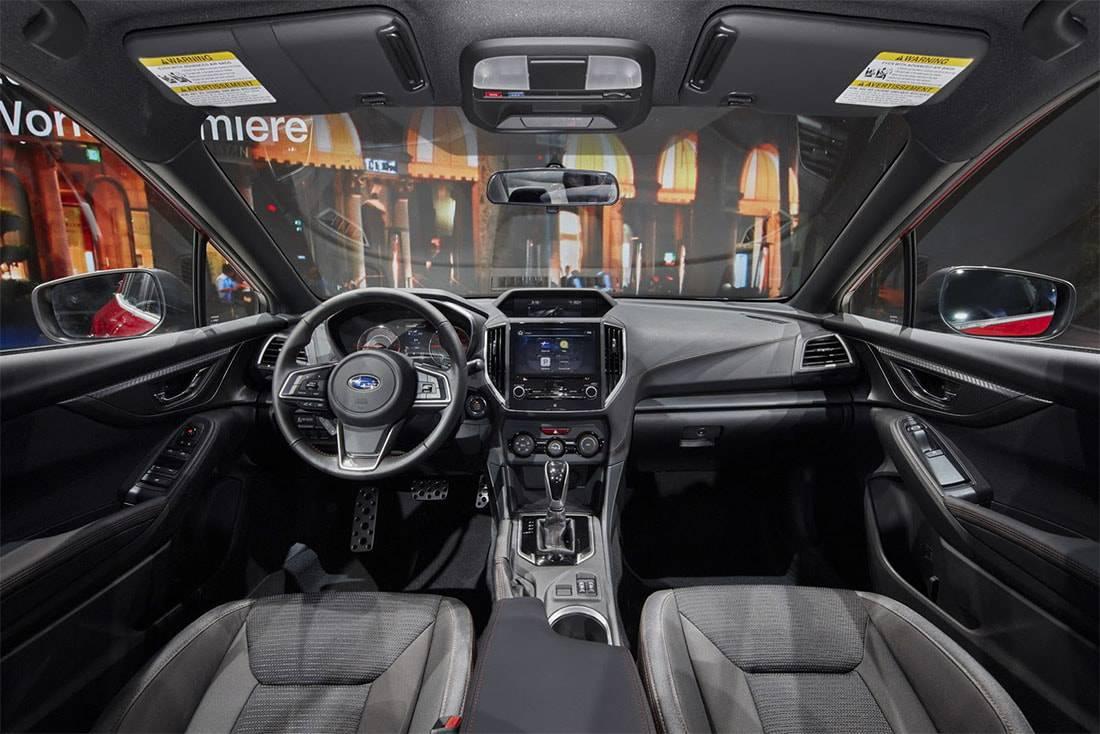 Фото салона Subaru Impreza седан 2017-2018 год