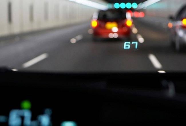 умный проекционный дисплей Тойота