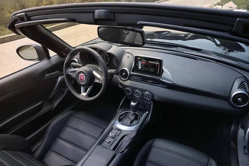 Салон Fiat 124 Spider 2016-2017 модельного года