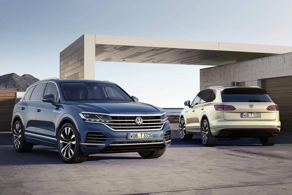 Для Volkswagen Touareg расширился список базового и опционального оборудования