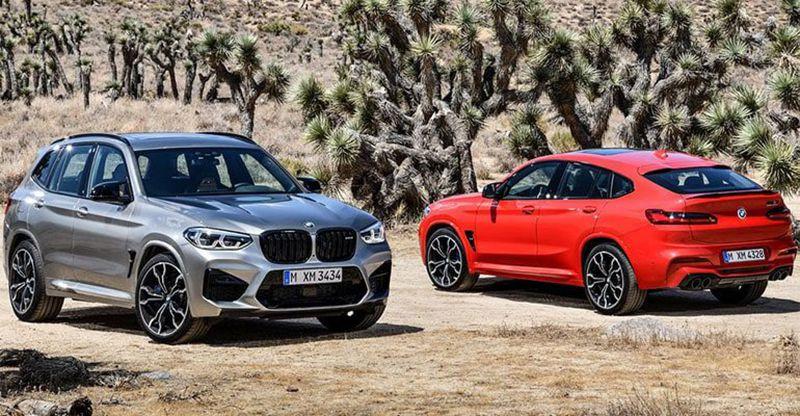 Заряженные кроссоверы BMW X3 M и X4 M 2019-2020 модельного года