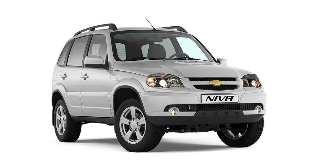 Внедорожник Chevrolet Niva 2019-2020 с мультимедийной системой