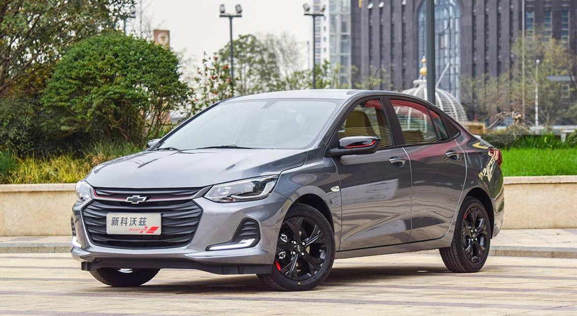 Chevrolet Onix 2019-2020 - бюджетный американский седан для Китая