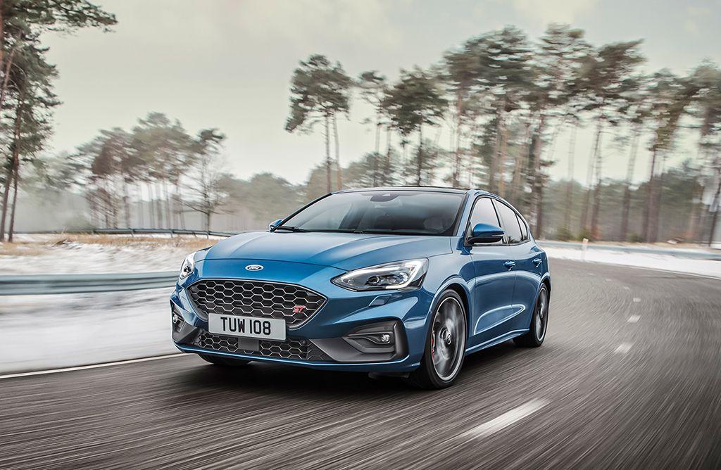 """Новый """"заряженный""""Ford Focus ST 2019-2020 модельного года"""