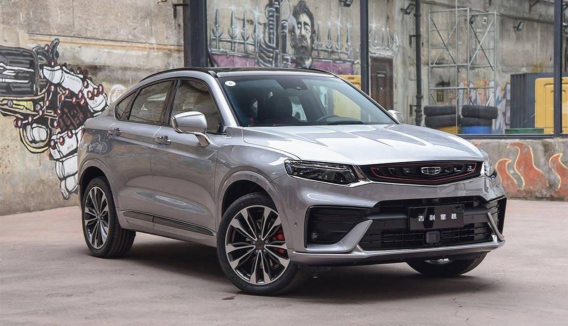 новое кросс-купе Geely Xingyue 2019-2020 года