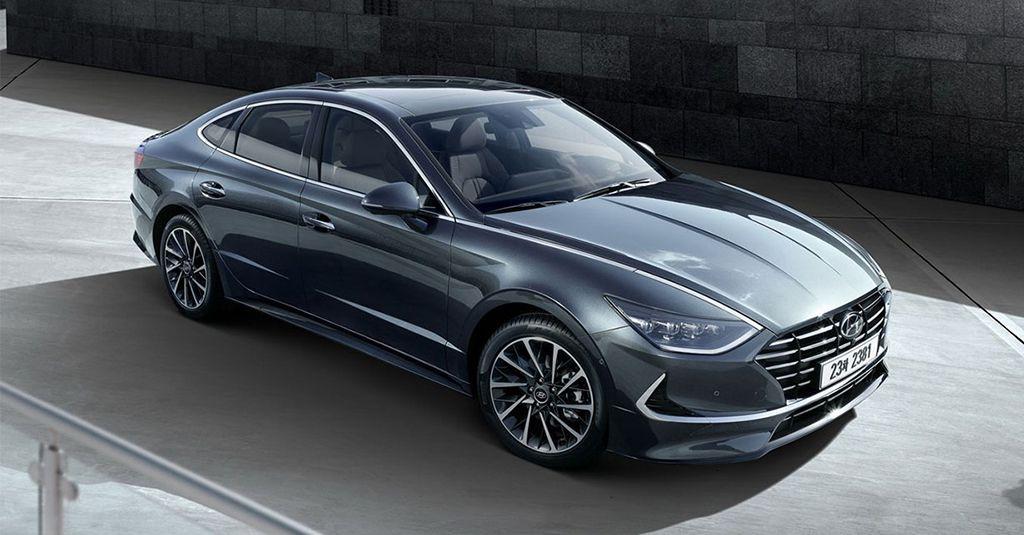 Седан Hyundai Sonata 2019-2020 года 8 поколения