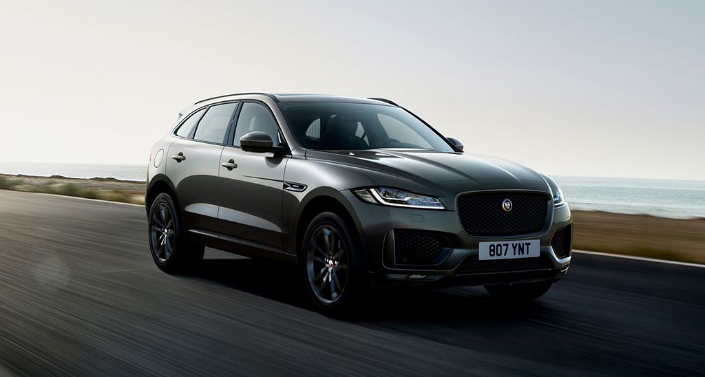 Кроссовер Jaguar F-Pace 2019-2020 300 Sport и Chequered Flag