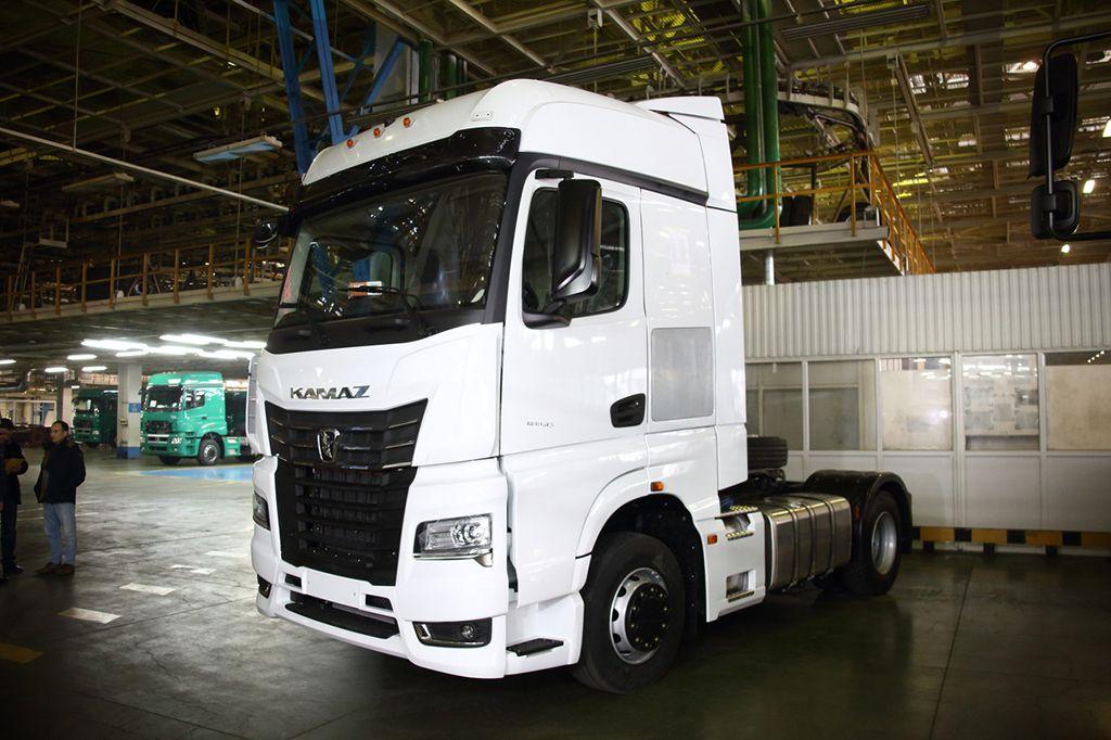 магистральный тягач КамАЗ-54901 5 поколения с кабиной К5