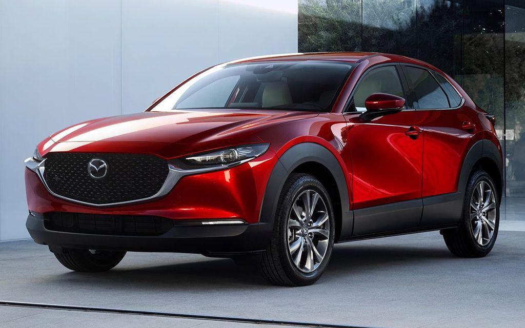 Новый компактный кроссовер Mazda CX-30 2019-2020 модельного года