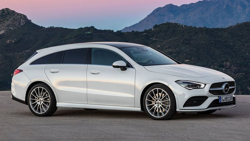 Спортивный универсал Mercedes-Benz CLA Shooting Brake 2019-2020 года