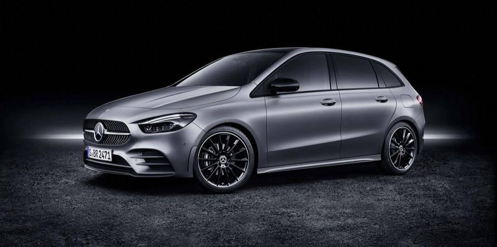 компактвэн третьего поколения Mercedes-Benz B-Class 2019 года с ценами и комплектациями для России