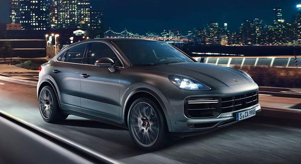 Купе-кроссовер Porsche Cayenne Coupe 2019-2020 года