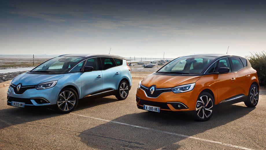 Renault Scenic и Grand Scenic обзавелись 6-ступенчатым «роботом»