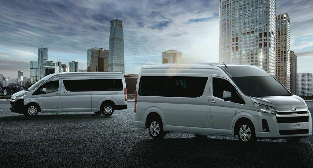 Микроавтобусы Toyota Hiace 6 поколения 2019-2020 модельного года