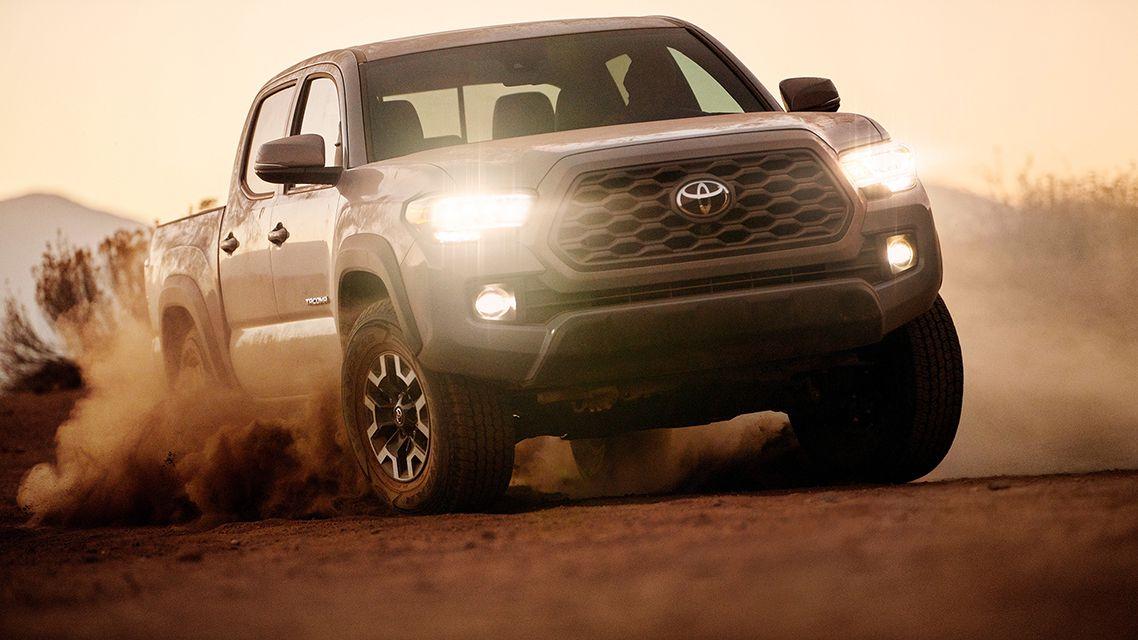 обновленный пикап Toyota Tacoma 2020-2021 года 3 поколения