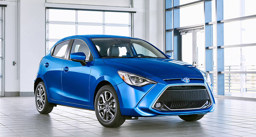 Toyota Yaris 2019-2020 - компактный 5-дверный хэтчбек