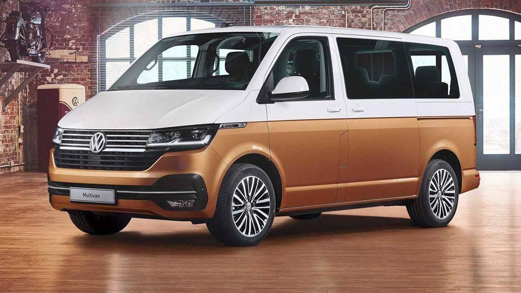 Обновленный минивэн Volkswagen T6.1 2019-2020 модельного года