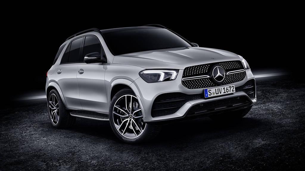 Кроссовер Mercedes-Benz GLE 580 2019-2020
