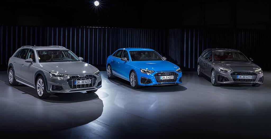Обновленное семейство Audi A4 2019-2020 года