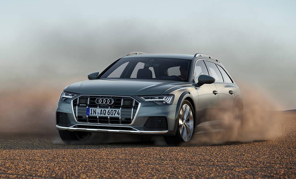Вседорожный универсал Audi A6 allroad 2019-2020