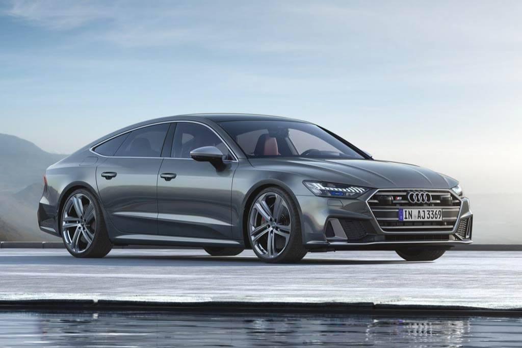 """Новый """"заряженный"""" Audi S7 Sportback 2019-2020 с дизельным мотором"""