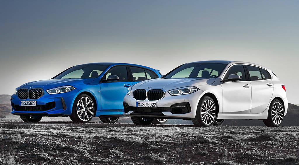 Хэтчбек BMW 1-Series 2019-2020 года 3 поколения