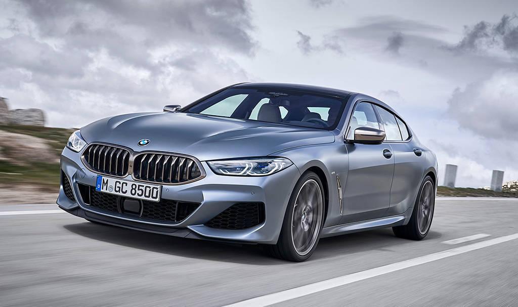 Четырехдверное купе BMW 8-Series Gran Coupe 2019-2020