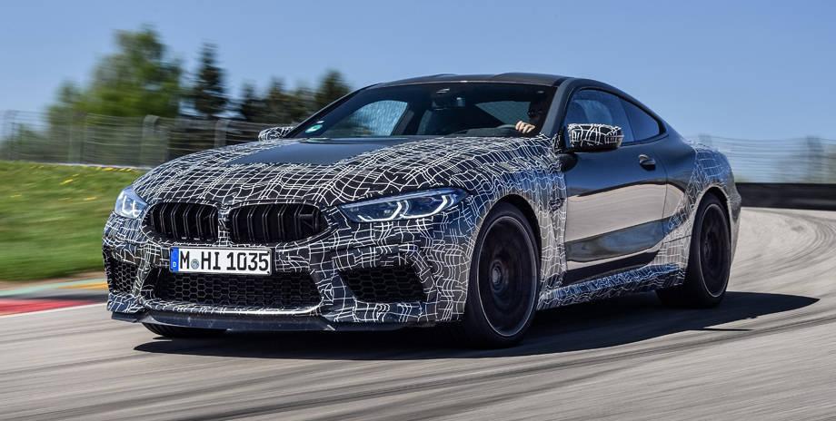 Купе BMW M8 2020-2021 с настраиваемой тормозной системой