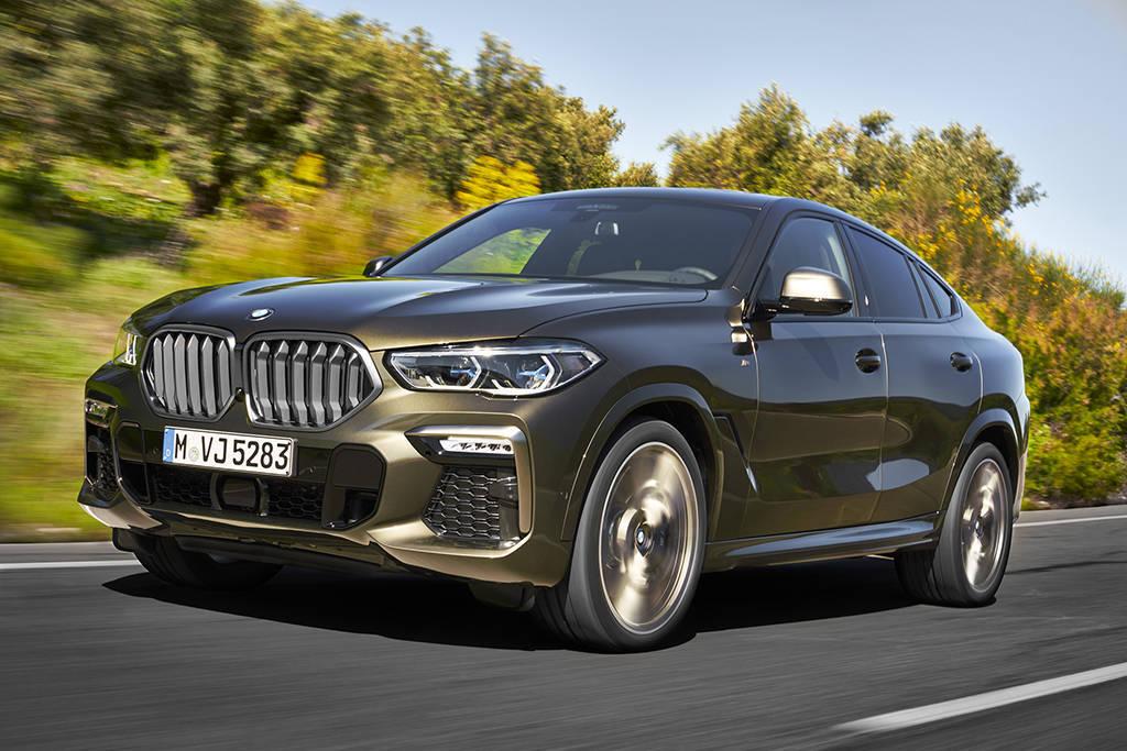 Новый купе-кроссовер BMW X6 G06 2019-2020 третьего поколения