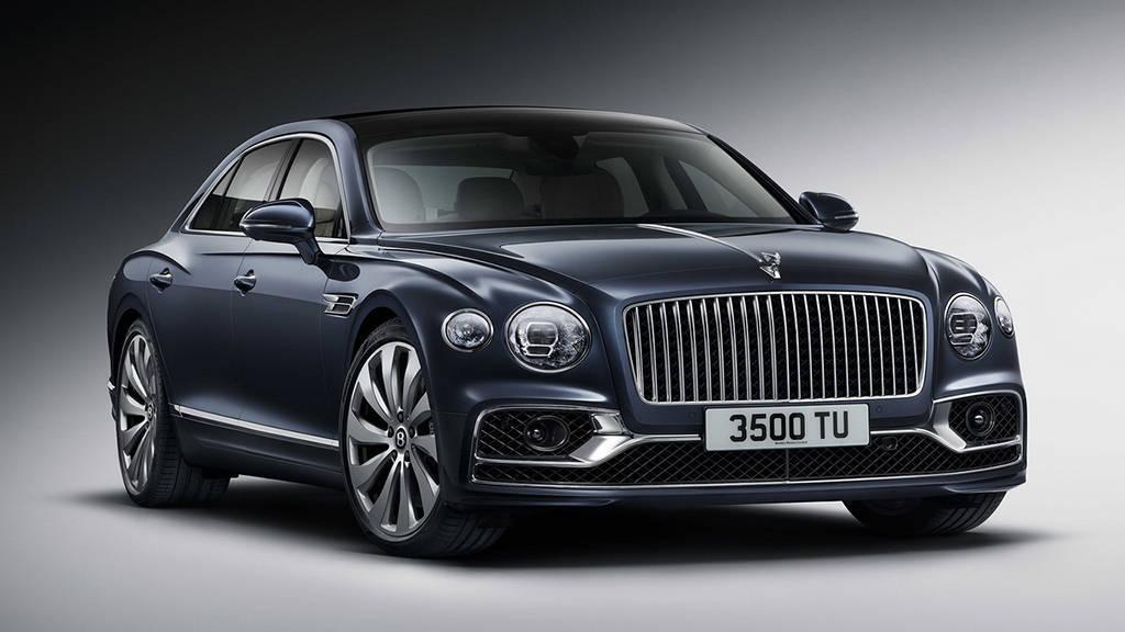 Люксовый седан Bentley Flying Spur 2019-2020