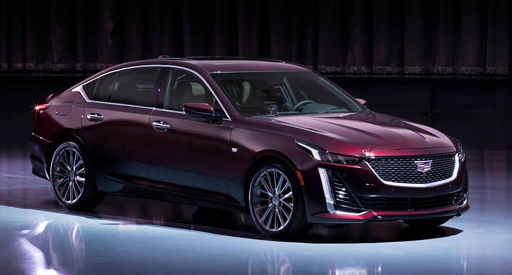 Cadillac CT5 2019-2020 - роскошный спортивный седан