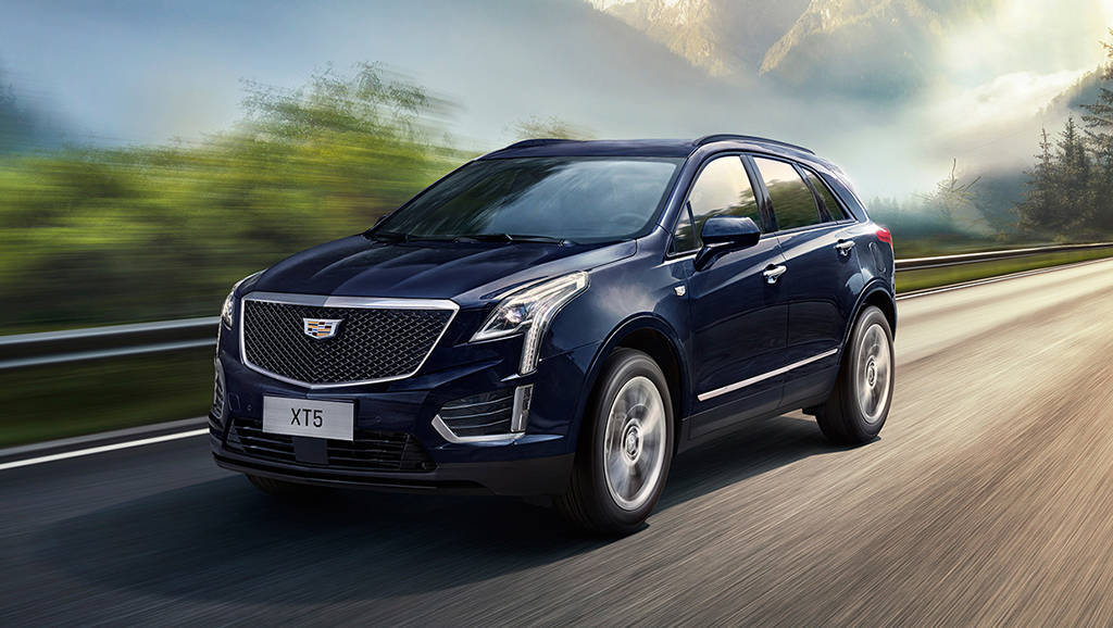 Обновленный кроссовер Cadillac XT5 2019-2020