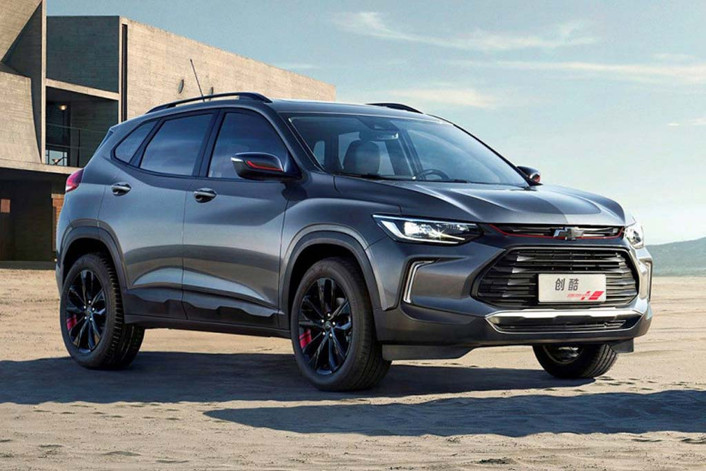 Новый кроссовер Chevrolet Tracker 2019-2020