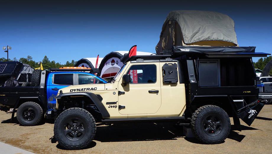 Dynatrac CODEX Jeep Gladiator - шоу-кар на базе Джип Гладиатор