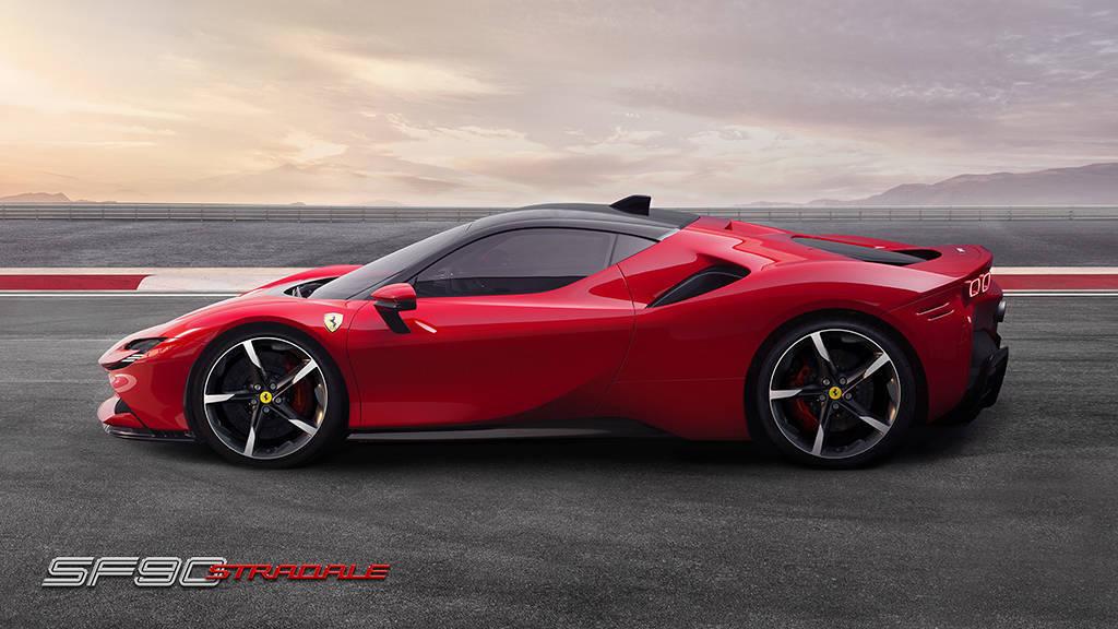 купе Ferrari SF90 Stradale 2019-2020 года
